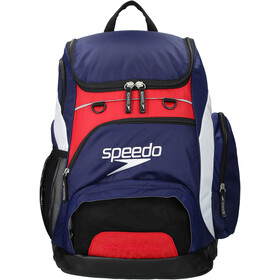 speedo Teamster Backpack L Unisex, navy/red/white